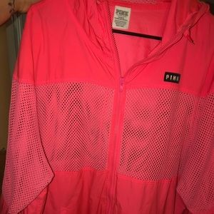 Sweaters - Pink windbreaker